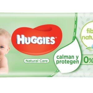 Toalhitas huggies Natural Care (56 unidades)