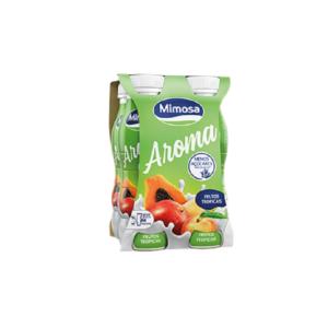 Iogurtes Líquidos Mimosa - Aroma Frutos Tropicais 4x156ml