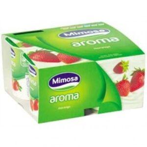 Iogurtes Mimosa - Aroma Morango 4x120ml