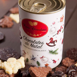 Lata Lacrada Chocolate Natal
