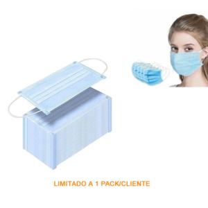 Máscara de Protecção Facial Higienizada (25 unid)