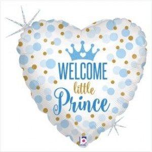Balão Welcome Little Prince