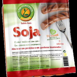 Salsicha de Soja sabor tradicional (6 unid) 200 gr