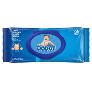Toalhitas Dodot Dermo Active 64 unidades